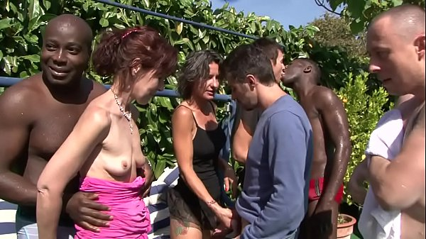 outdoor mature orgy Thumb
