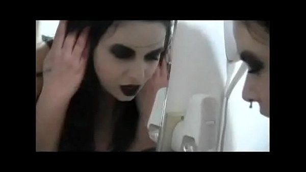 white gardenia - girl performs oral sex on plug in air freshener (excerpt) S&M beautiful girl disciplined slave dominated humiliated in front of mirror discipline spanking goth girl ass butt oral stimulation tongue punishment