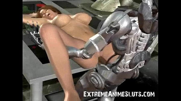 Terminator Cums on Sarah Connor!