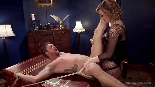 bdsm femdom Cherry Torn and Mike Panic (1)