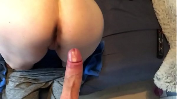 Blonde Milf showing how to take thick white cock