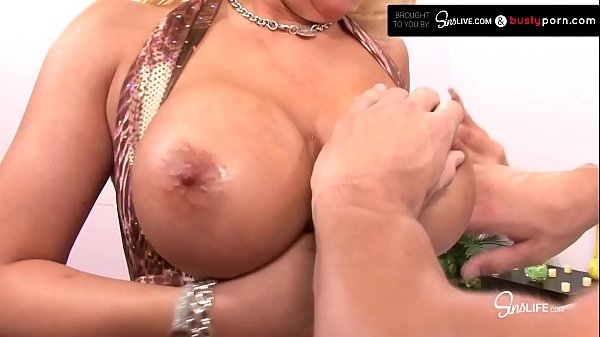 Busty Blonde Waitress Bimbo Candy Manson Gets Drilled By Johnny Sins Thumb
