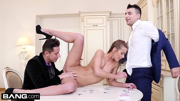 Glamkore - Alexis Crystal poker game turns into...