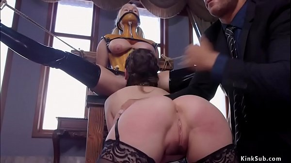 Master and head slave anal fuck blonde