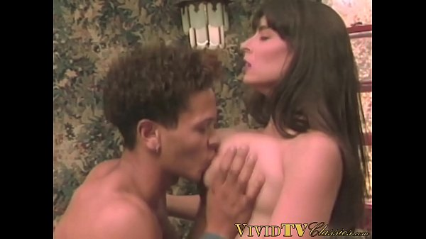 Retro MILF with big tits drilled deep after giving a blowjob
