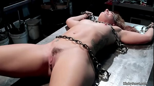 Hot ass bound slave pussy toyed Thumb