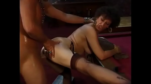 Watch granny on her knees sucking a cock and ge...