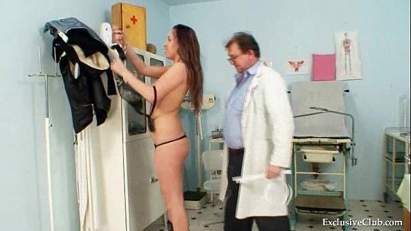 Andrea Visiting Her Gyno Doctor For Real Pussy  thumbnail