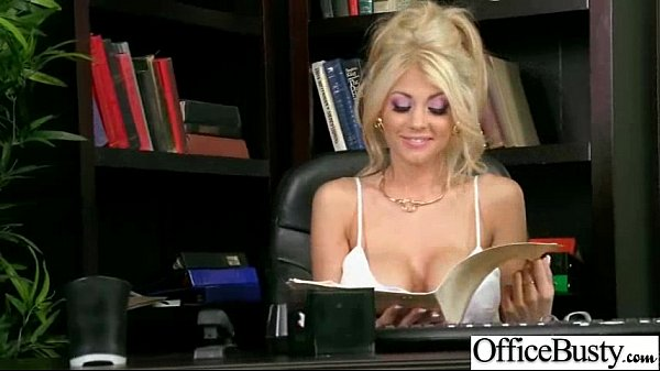 Sex Tape In Office With Big Round Boobs Sexy Girl (kayla kayden) video-19