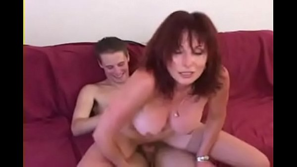 Redhead milf pick up for threesome