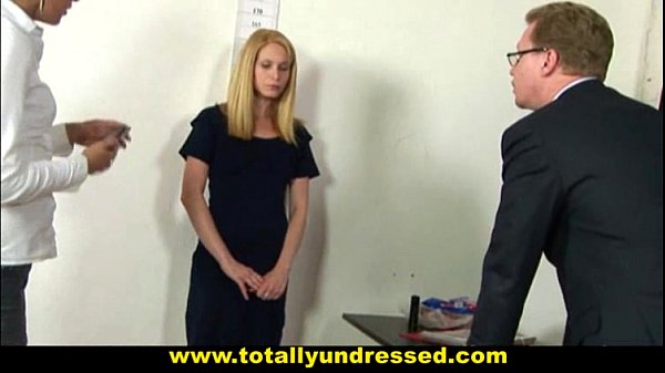 Image Embarassing nude job interview for shy 19 y.o. …