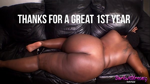 Fat Black BBW Pussy Gets Creampied and Impregnated For New Years |
