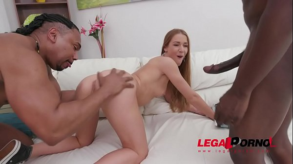 Alexis Crystal interracial anal threesome with ...