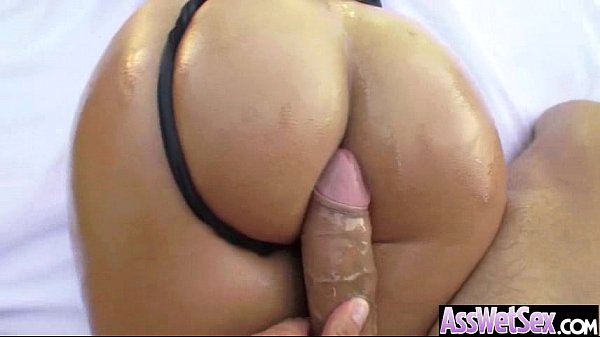Oiled Wet Ass Sexy Girl Get Nailed Deep video-14
