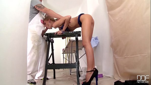 Threesome Blowjob with hungry sluts Monalee & D...