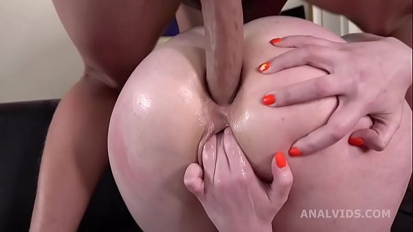 Rough Anal Casting, Lika Kitty welcome to Porn with Balls Deep Anal, Manhandle, Gapes and Cum in Mouth GL311