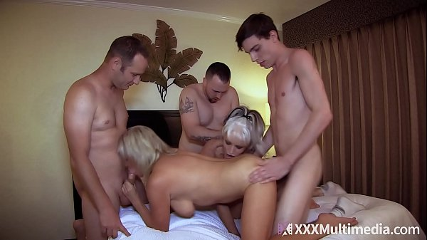 Mommy Has An Orgy With Son and His Friends feat...