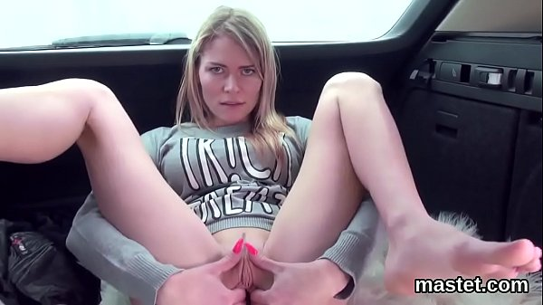 Unusual czech sweetie opens up her narrow vagina to the extreme