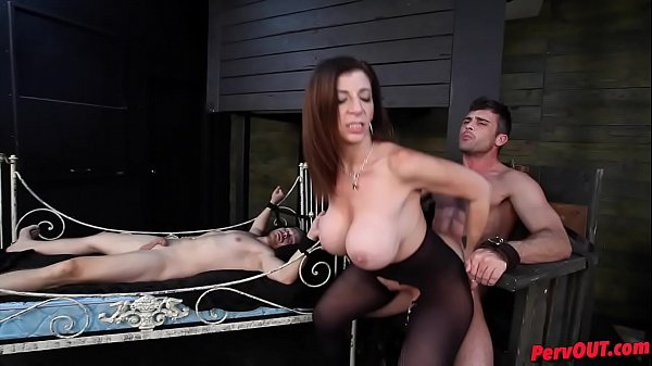 Sara Jay has sex slaves Lance Hart Alex Adams
