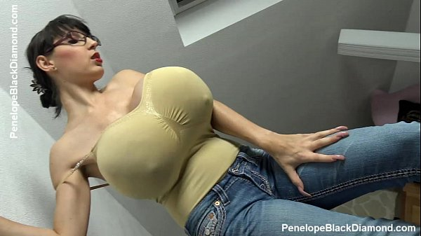 Penelope Black Diamond - Milking Tits - breastf...