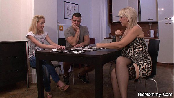 Strip poker leads to pussy toying Thumb