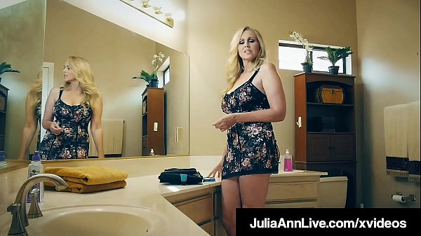 Milking Mommy Julia Ann Sucks & Fucks Raging Ro...