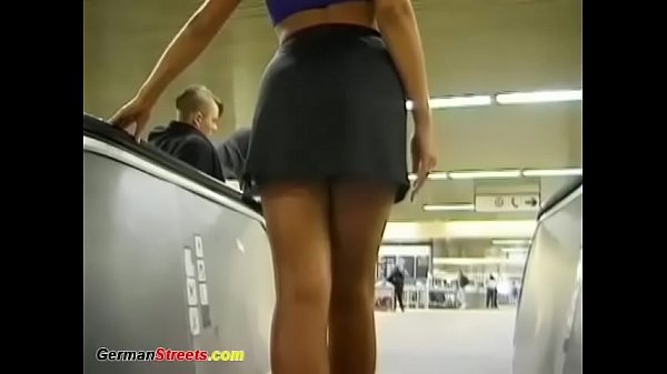 german Milf picked up for outdoor anal