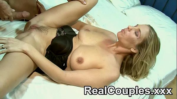 A MILF is fucked hard by her husband