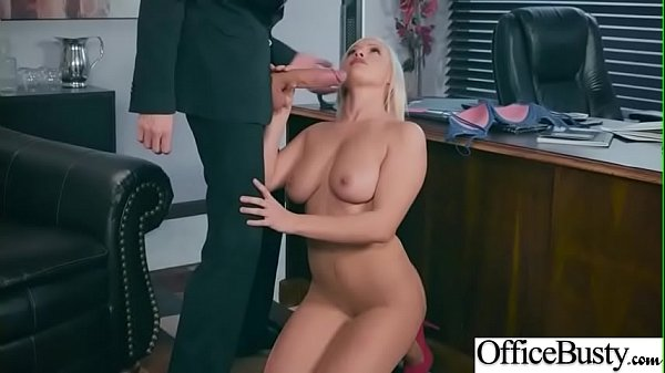 Hot Big Tits Girl (Kylie Page) Hard Nailed In Office mov-19
