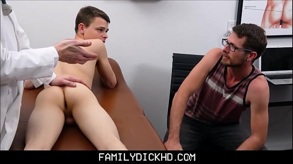 Twink Step Son And Dad Doctors Office Threesome