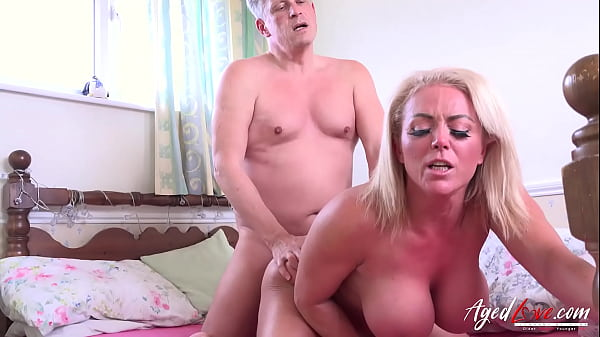 AGEDLOVE Horny Mature Hardcore Ride on Handy Stud Thumb