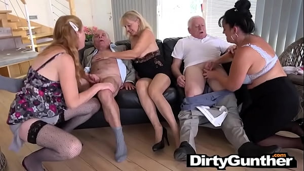 Perverted Oldie Orgy