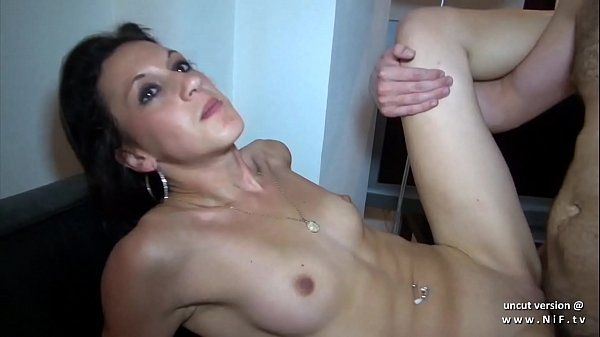 Anal casting couch of a skinny amateur french a...