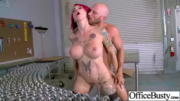 Office Girl (anna bell peaks) With Big Tits Banged Hard Style video-03