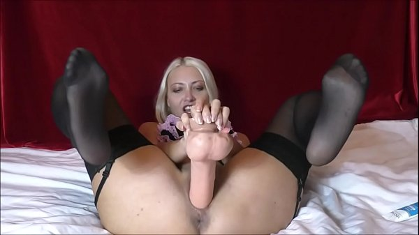 Destroyed pussy by huge dildo Helena Moeller