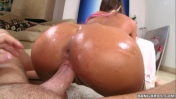 Big Oiled Booty August Ames  thumbnail