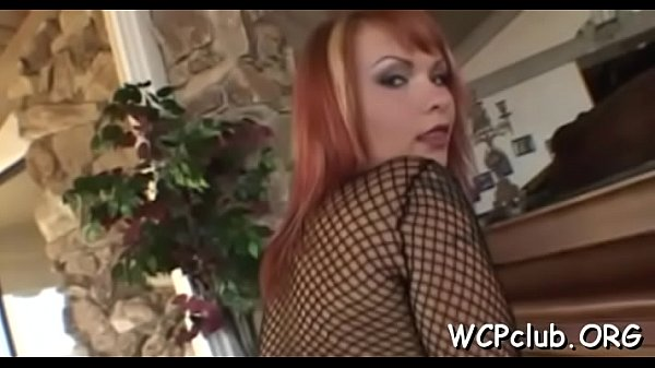 Chocolate woman stands from behind getting drilled so hard Thumb