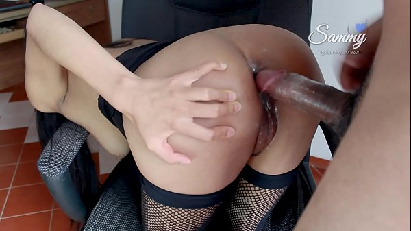 Your Wife Working Overtime AGAIN!! (Amateur Latina Ass to Mouth)