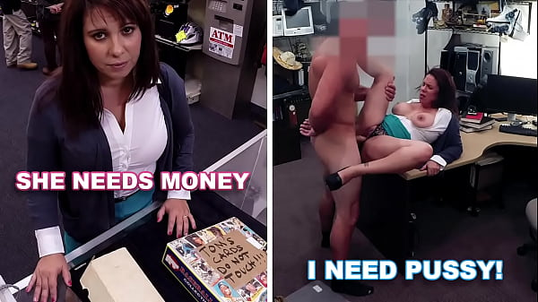 XXX PAWN - Curvy MILF Earns Money To Bail Out H...
