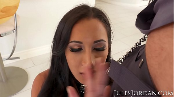 Jules Jordan - Amia Miley Is Jules Jordan's Slut Puppy In 4K