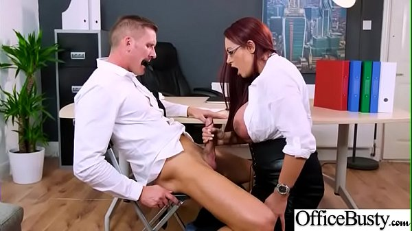 Hot Sex In Office With Big Round Boobs Girl (Em...