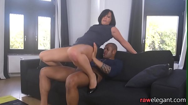 Glamcore MILF assfucked by black dong