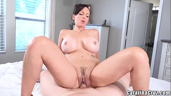 Catalina Cruz Horny Housewife gets dick and creampie Thumb