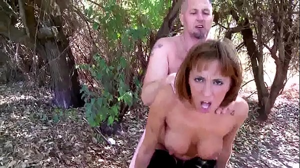 This Slut Gets Fucked Back of Truck In Da Woods Thumb