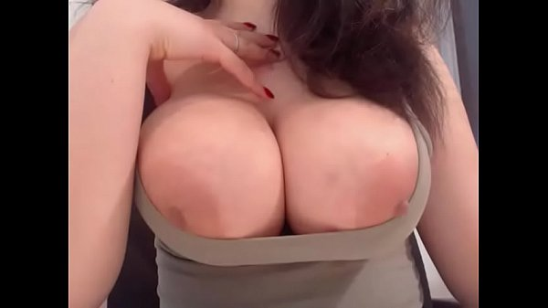 Her big tits in a tank top Slutty Wife Showing Of Big Tits And Nipples In Tight Shirt Xvideos Com