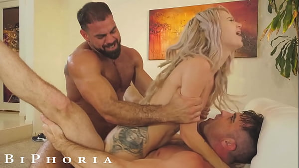 BiPhoria - Married Couple Both Want To Fuck The Pool Boy Thumb