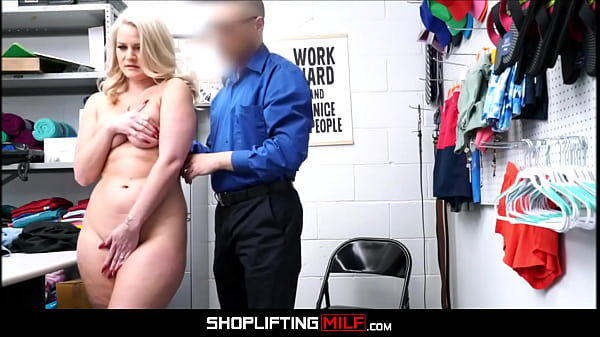 Big Ass MILF Shoplifter Lisey Sweet Caught With Jewelry Fucked By Officer After Deal