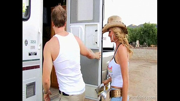 Trailer Park Threesome With Claire Dames and Kelly Madison Thumb