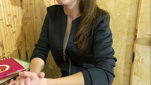 Lustful Teacher Seduces Her Student and Fucks Him. Russian Amateur with Dialogue