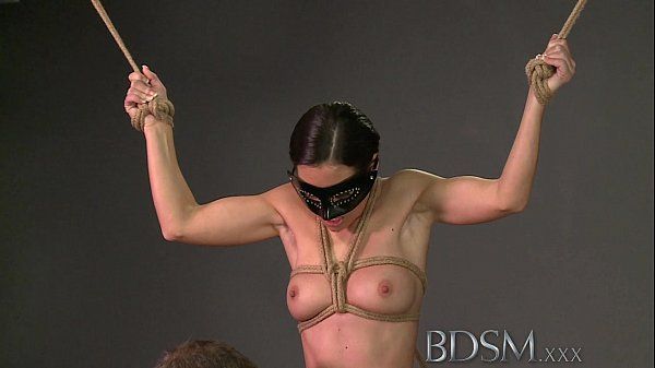 BDSM XXX Magic wand orgasms prove too much for ...